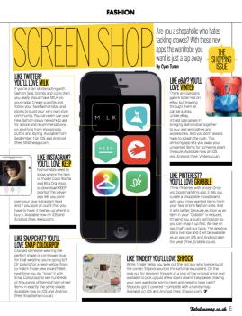 Screen Shop; Fabulous
