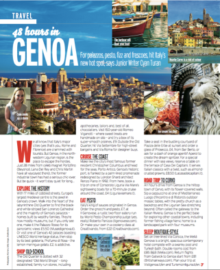 48 Hours In Genoa; Fabulous