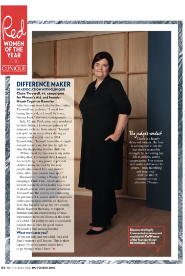 Red Women of the Year 2016: Difference Maker; Red