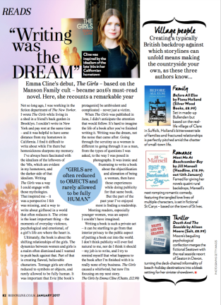 Writing Was The Dream by Emma Cline; Red
